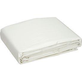 Global™ 20' x 30' Medium Duty 6 oz. Tarp, White