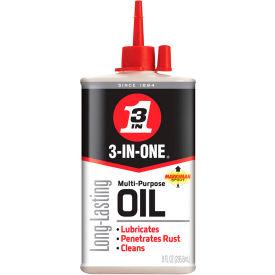 WD-40 ® 3-In-One ® Multi-Purpose Lubricant - 8 oz. Bottle - 10138 - Pkg Qty 12