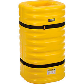 "Column Protectors, 12"" Column Opening, Yellow"