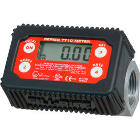 Fill-Rite TT10AN, Electronic In-line Digital Turbine Meter, 35 GPM, Aluminum