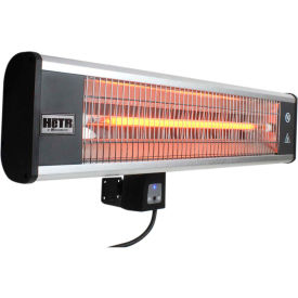 Heaters | Patio | HeTR H1016UPS Wall Mounted Patio Heater - Electric Radiant With Remote - 1500 Watts | 246091 - GlobalIndustrial.com  sc 1 st  Global Industrial & Heaters | Patio | HeTR H1016UPS Wall Mounted Patio Heater - Electric ...