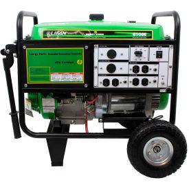 Lifan Power USA ES8100E, 7500 Watts, Portable Generator, Gasoline, Electric/Recoil Start, 120/240V