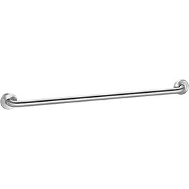 "Global Industrial™ Straight Grab Bar, Satin Stainless Steel - 36""W x 1-1/4"" Dia."