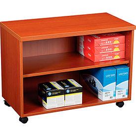 """30"""" Under Desk Storage Cabinet - Cherry"""