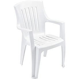 Outdoor Resin Stacking Chair  - Pkg Qty 4