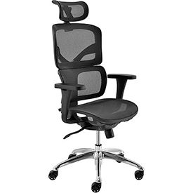 All Mesh Premium Chair, Black