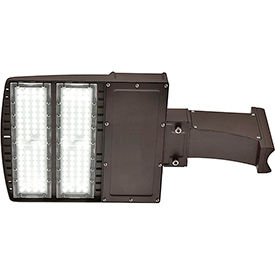 Global™ LED Area Contractor Pack, 150W, 5000K, 18000 L, Slipfitter & Mount Brackets, Photocell
