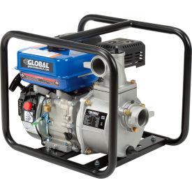 "Global Industrial™ GP50 Portable Gasoline Water Pump 2"" Intake/Outlet 7HP"