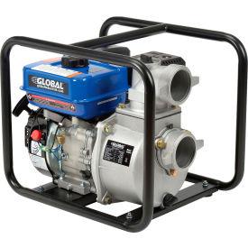 "Global Industrial™ GP80 Portable Gasoline Water Pump 3"" Intake/Outlet 7HP"