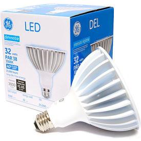 GE Lighting 88810 LED32DP38W830/40  LED Par 38 Lamp, 32W, 3000K, 3000 Lum, 40 Degree Beam Angle, Dim