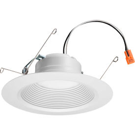 Lithonia Lighting® 65SEMW LED 40K 90CRI M6 LED Recessed Retrofit Downlight, 12W, 845 Lum, 4000K