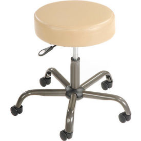 Interion® Antimicrobial Vinyl Medical Stool, Beige