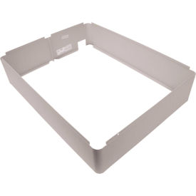 TPI Fan Forced Wall Heater Surface Mounting Frame 3310EX33WR White