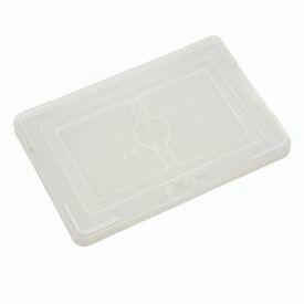 "Lid COV91000 for Plastic Dividable Grid Container, 10-7/8""L x 8-1/4""W, Clear - Pkg Qty 10"