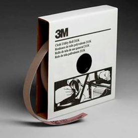 3M Utility Cloth Roll, 1 W x 50 Yd, Aluminum Oxide, 320 Grit