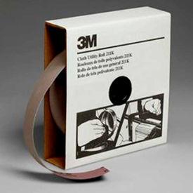 3M Utility Cloth Roll, 1-1/2 W x 50 Yd, Aluminum Oxide, 400 Grit - Pkg Qty 5