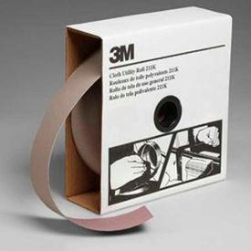 3M Utility Cloth Roll, 2 W x 50 Yd, Aluminum Oxide, 120 Grit