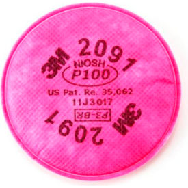 3M™ Particulate Filter, P100 Respiratory Protection