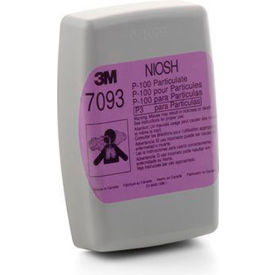 3M™ Particulate Filter 7093, P100 Respiratory Protection, 60/Case