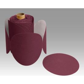 "3M™ Stikit™ Paper Disc Roll 763U 6"" X NH Ceramic 60 100 discs per roll - Pkg Qty 4"