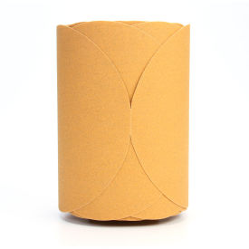"3M™ Stikit™ Gold Disc Roll 8"" Dia. Aluminum Oxide P100 125 discs per roll"