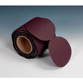 "3M™ Stikit™ Cloth Disc Roll 341D 6"" X NH Aluminum Oxide P100 100 discs per roll - Pkg Qty 4"
