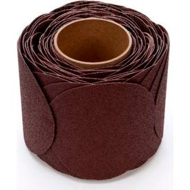 "3M™ Stikit™ Cloth Disc Roll 341D 5"" X NH Aluminum Oxide 60 100 discs per roll - Pkg Qty 4"
