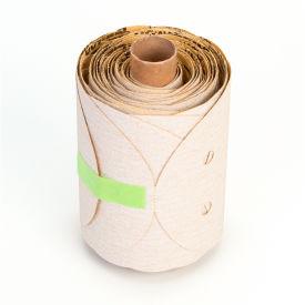 """3M™ NX PSA Paper D/F Disc Roll 5"""" X NH Aluminum Oxide P100 100 discs per roll - Pkg Qty 4"""