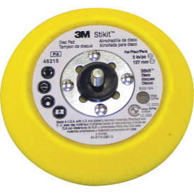 "3M™ Stikit™ Disc Pad 45215, 5"" x 3/4"" x 5/16-24 External - Pkg Qty 10"