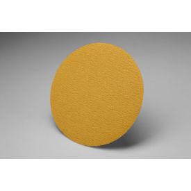 """3M™ Hookit™ Gold Film Disc 255L 3"""" X NH P120 Grit Aluminum Oxide - Pkg Qty 4"""