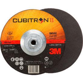"3M™ Cubitron™ II Cut-Off Wheel Quick Change 66542 T27 7"" x .09"" x 5/8-11"" Ceramic Grain"
