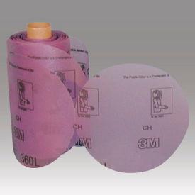 """3M™ Stikit™ Film Disc Roll 360L 6"""" X NH Aluminum Oxide P600 125 discs per roll - Pkg Qty 4"""