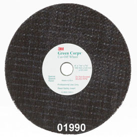 "3M™ Green Corps™ Cut-Off Wheel 01990 3"" x 1/16"" x 3/8"" Ceramic"
