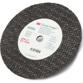 "3M™ Green Corps™ Cut-Off Wheel 82238 3"" x 1/32"" x 1/4"" Ceramic  - Pkg Qty 50"
