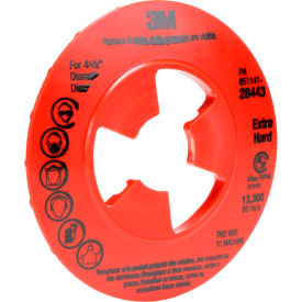"""3M™ Disc Pad Face Plate Ribbed 80514 7"""""""