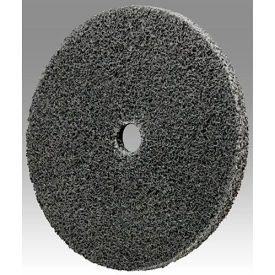 "3M™ Scotch-Brite™ EXL Unitized Wheel 3"" x 1/4"" x 3/8"" Aluminum Oxide 4A FIN - Pkg Qty 40"