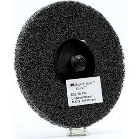"3M™ Scotch-Brite™ Roloc™EXL Unitized Wheel TR 3"" x NH Silicon Carbide 2S FIN - Pkg Qty 10"