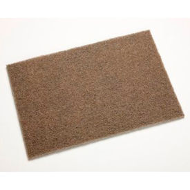 "3M™ Scotch-Brite™ Heavy Duty Hand Pad 7440B 6"" x 9"" Aluminum Oxide MED Grit-40 Pads"