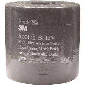 "3M™ Scotch-Brite™ Multi-Flex Abrasive Sheet Roll 8"" x 20 ft ULF Grit Silicon Carbide"