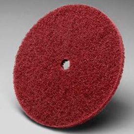 "3M™ Scotch-Brite™ High Strength Disc 6"" x 1/2"" Aluminum Oxide A VFN - Pkg Qty 40"