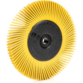 "3M™ Scotch-Brite™ Radial Bristle Brush 6"" x 1/2"" x 1"" Ceramic 80 Grit"