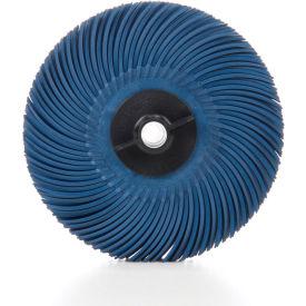 """3M™ Scotch-Brite™ Radial Bristle Disc Thin Bristle 3"""" x 3/8"""" Ceramic 400 Grit - Pkg Qty 80"""