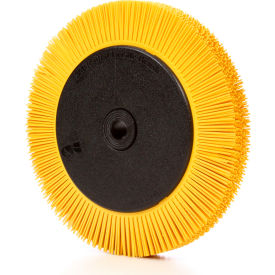 "3M™ Scotch-Brite™ Radial Bristle Brush 8"" x 1"" x 1 1/4"" Ceramic 80 Grit - Pkg Qty 2"
