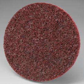 """3M™ Scotch-Brite™ Roloc™ Disc SL-DR 3"""" Diameter TR Aluminum Oxide MED Grit - Pkg Qty 100"""