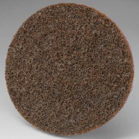"""3M™ Scotch-Brite™ Roloc™ Disc SL-DR 3"""" Diameter TR Aluminum Oxide CRS Grit Brown - Pkg Qty 100"""