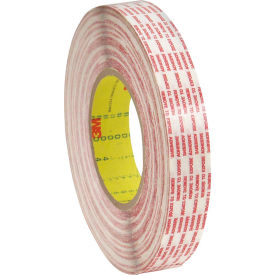 """3M™ 476XL Double Coated Extended Liner Tape 1/2"""" x 360 Yds. 6 Mil Translucent - Pkg Qty 12"""