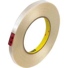 "3M™ Scotch® 890MSR Filament Tape 1/2"" x 60 Yds. 8 Mil Clear - Pkg Qty 72"
