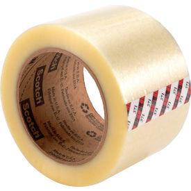 "3M™ Scotch® 371 Carton Sealing Tape 3"" x 110 Yds. 1.8 Mil Clear - Pkg Qty 24"