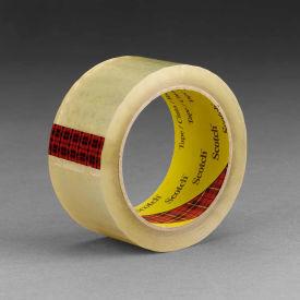 """3M™ Scotch® 3743 High Tack Carton Sealing Tape 3"""" x 55 Yds. 2.6 Mil Clear - Pkg Qty 24"""