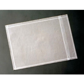 """3M NP4 Non-Printed Packing List Envelopes 5-1/2 x 10"""" Clear, 1000/Case by"""